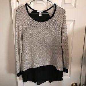 Bar III knit top